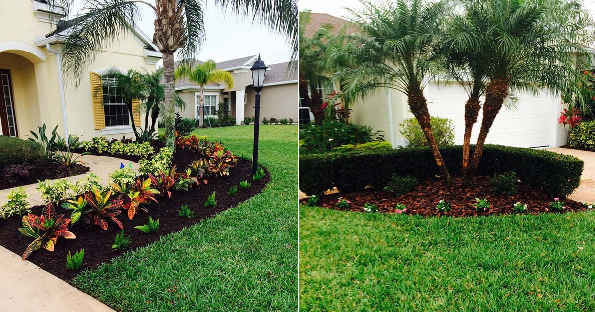 landscape maintenance upkeep mowing